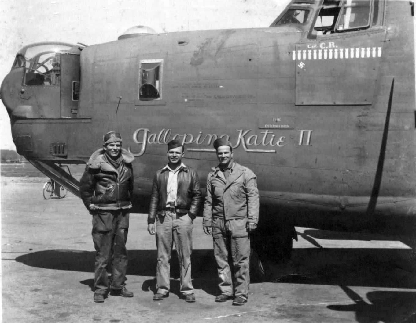 B-24 Liberator Galloping Katie II