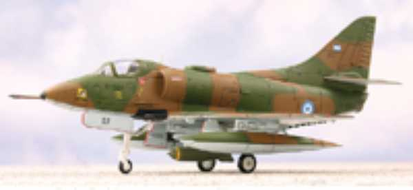 The A-4 Skyhawk flown by Mariano Valasco in the Falklands / Malvinas War in 1982