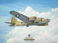 The Memphis Belle by Tony Fachet