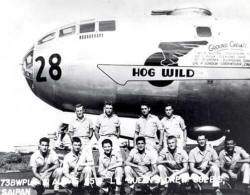 The B-29 Superfortress named Hog Wild