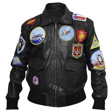 Real Top Gun Leather Jacket
