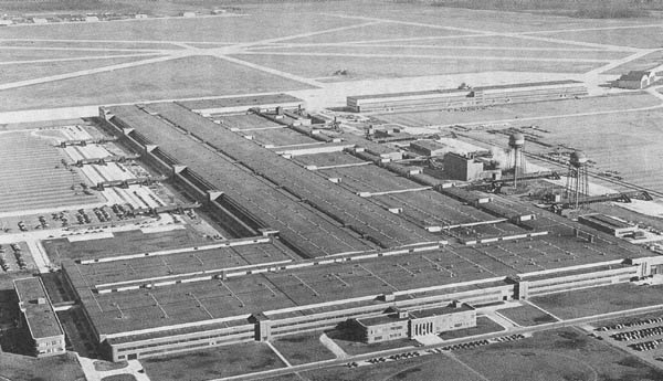 The Ford Willow Run Factory 