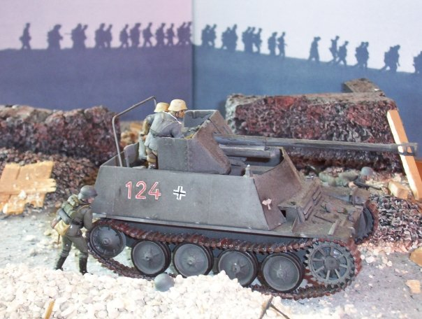 Model Tank Dioramas http://www.yellowairplane.com/Exhibits/Model_Airplanes_Dioramas/1-How_to_add_Models_to_Your_Dioramas.html