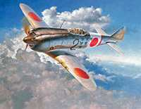 Japanese Aircraft that the 34th Fighter Squadron Fought Against