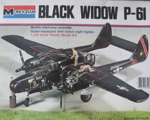 Yellowairplane Com P 61 Black Widow Collectable Models