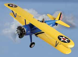 N2S-2/3/4 Stearman 1/24 Model,  Airplane museum quality construction