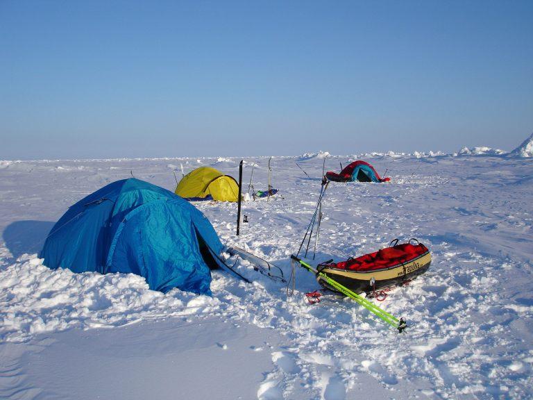 Yellowairplane Com The North Pole Is A Real Big Ski Area