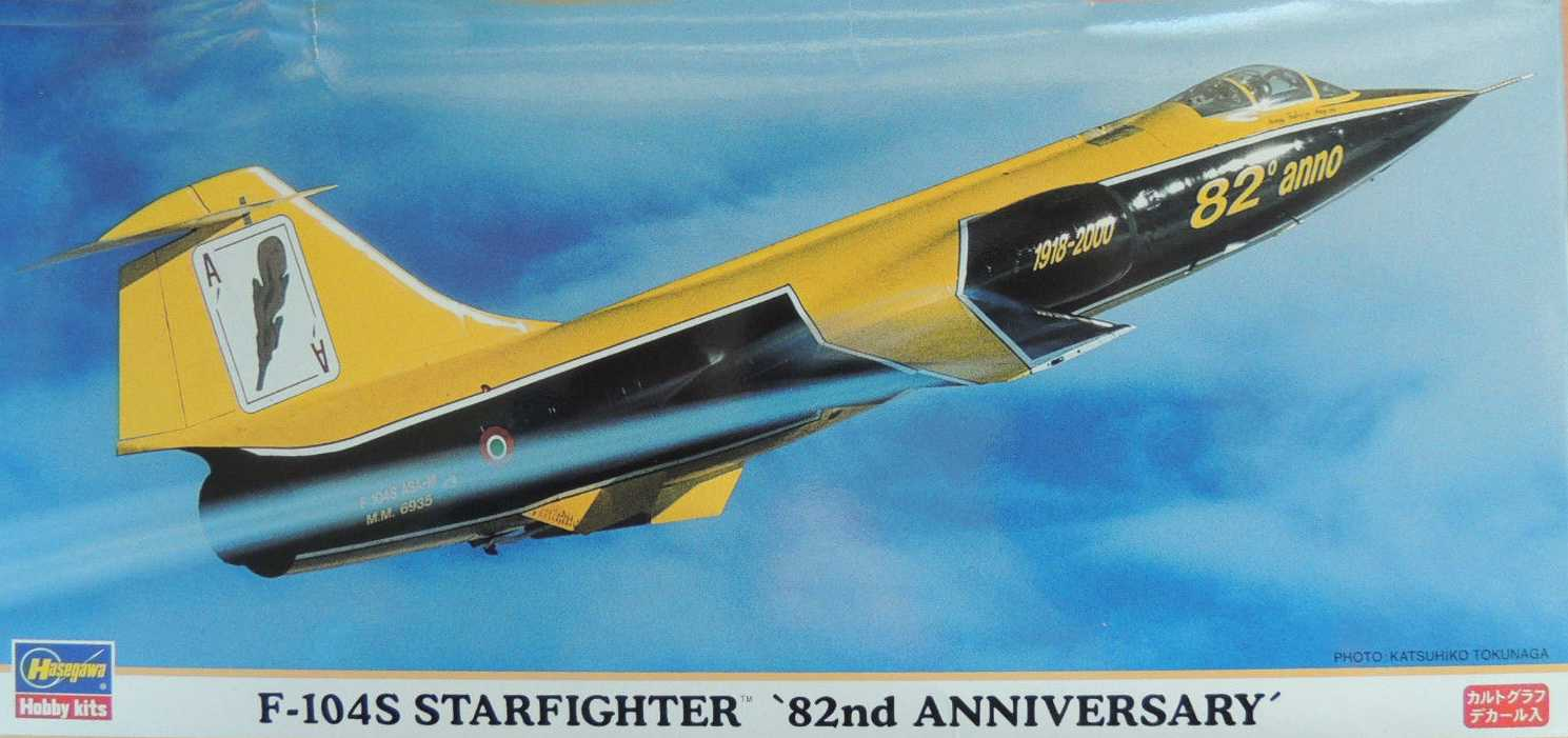 Hasegawa_F-104S Starfigther_82nd Anniversary Model Airplane Kit